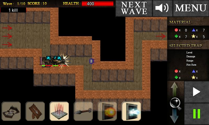 Trap Hunter TD - Imagem 2 do software
