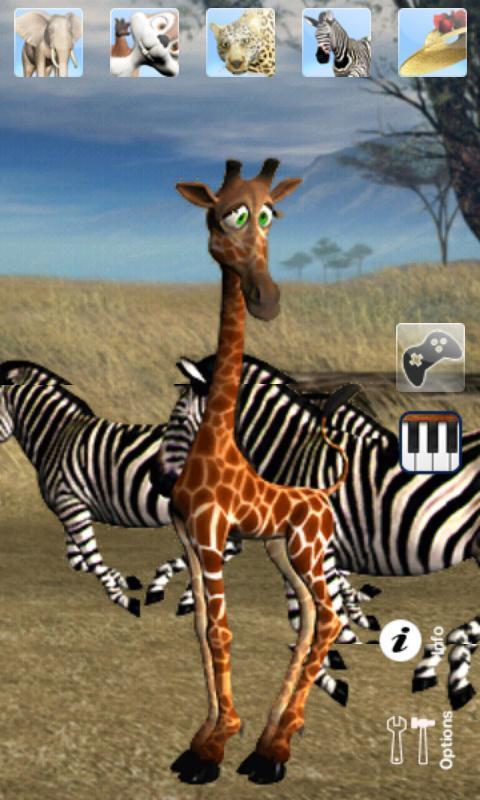 Talking George The Giraffe - Imagem 1 do software