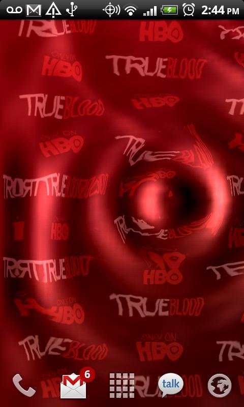 True Blood Live Wallpaper - Imagem 1 do software