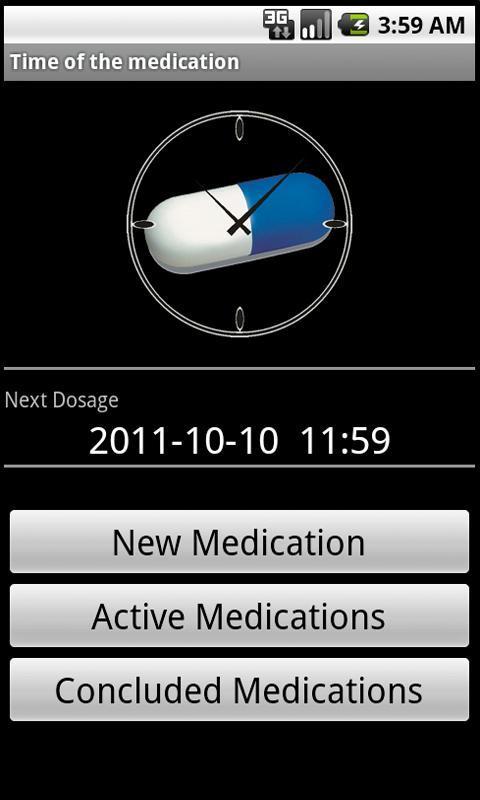 Hora do remédio - Imagem 1 do software