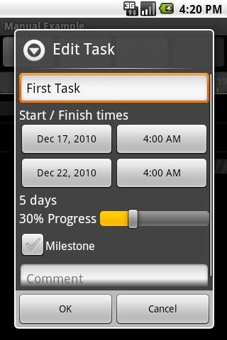 Project Schedule Free - Imagem 2 do software