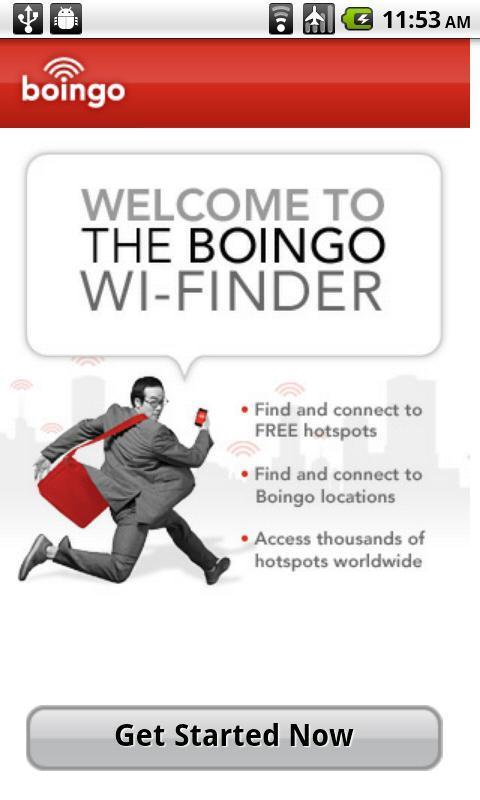 Boingo Wi-Finder - Imagem 1 do software