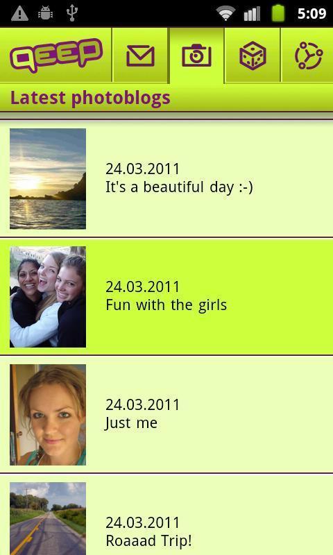 Friends, Fun, Free – qeep - Imagem 1 do software