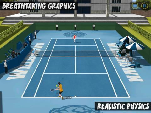 Flick Tennis: College Wars HD Free - Imagem 1 do software