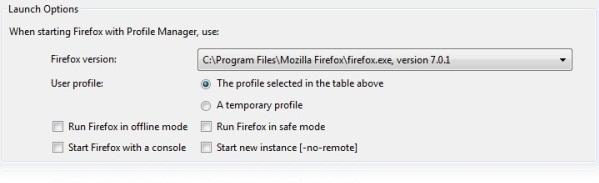 Mozilla Profile Manager - Imagem 2 do software