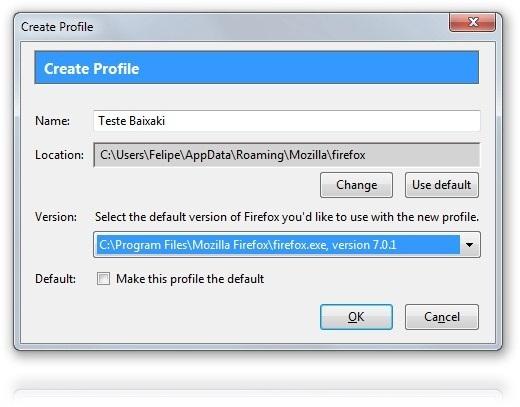 Mozilla Profile Manager - Imagem 1 do software