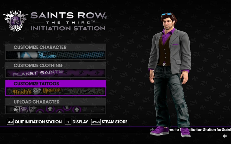 Saints Row: The Third - Initiation Station
