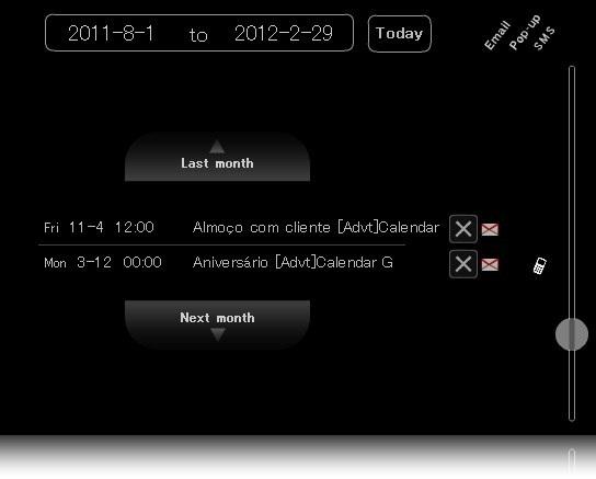 Calendar G - Imagem 2 do software