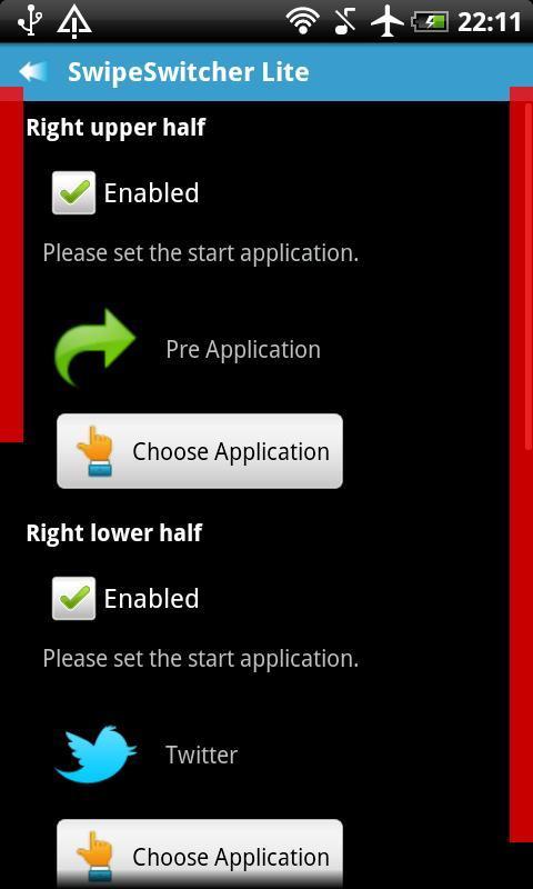 SwipeSwitcher Lite - Imagem 2 do software