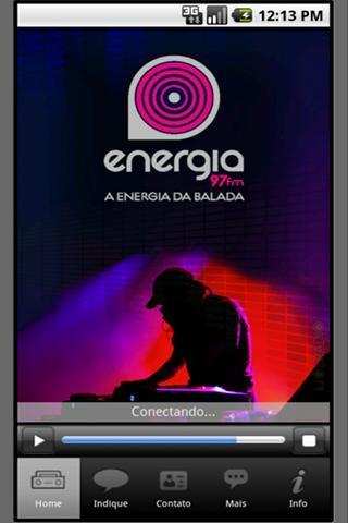 Energia 97 FM/São Paulo/Brasil - Imagem 1 do software