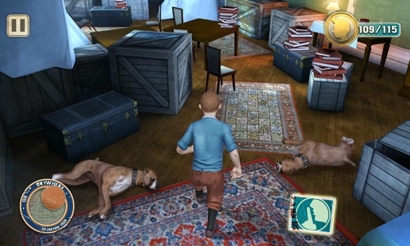 As Aventuras de Tintin HD - Imagem 1 do software