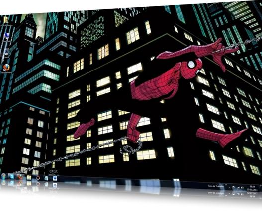 Spider Man Theme for Windows 7