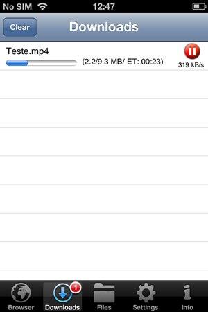iDownloader Pro Free - Imagem 2 do software