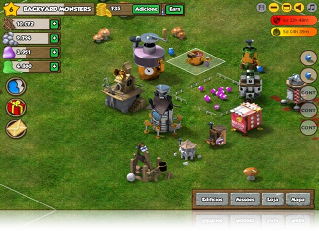 Backyard Monsters - Imagem 1 do software
