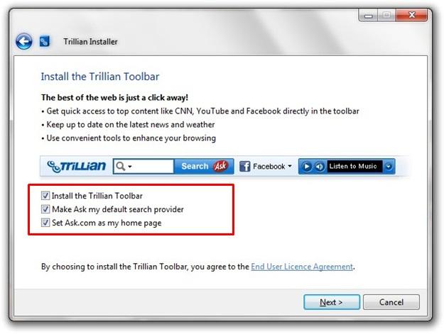 Trillian - Imagem 5 do software