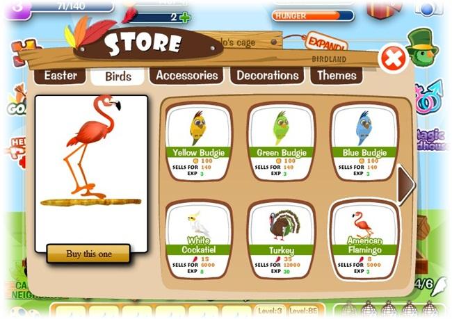 Birdland - Imagem 3 do software