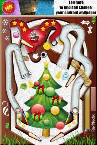 Pinball XMas Edition - Imagem 2 do software