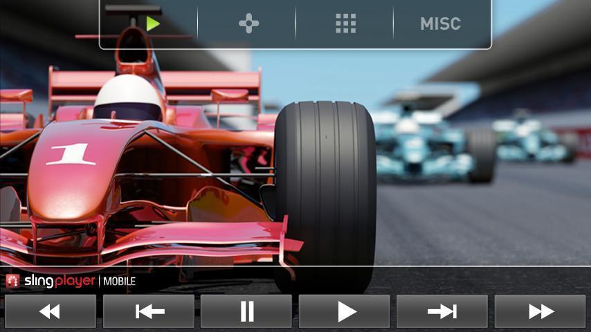 SlingPlayer for Phones - Imagem 1 do software