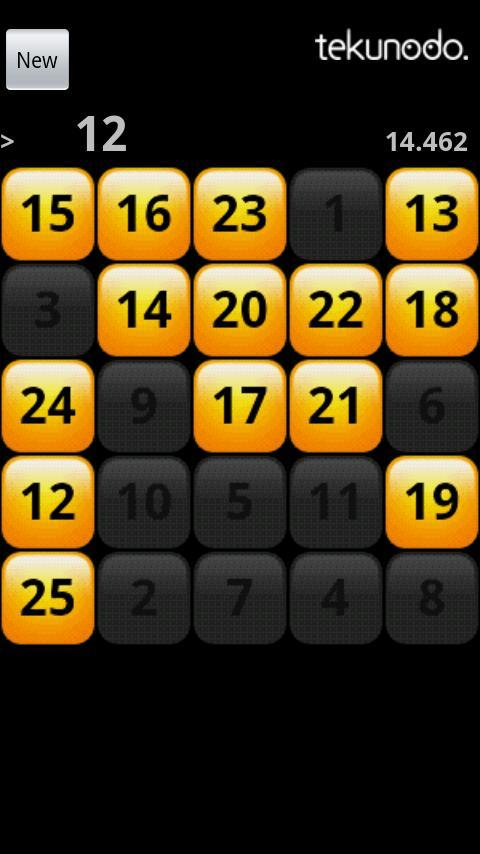 Touch the Numbers for Android - Imagem 1 do software