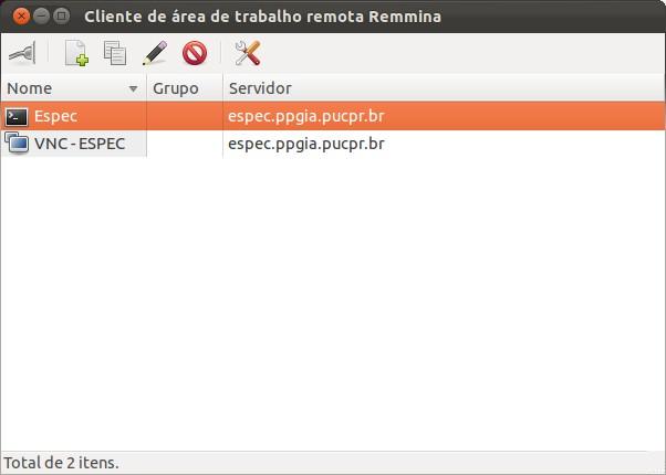 Remmina - Imagem 1 do software