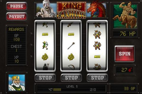 King Cashing Lite: Slots Adventure - Imagem 1 do software