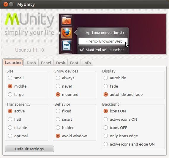 MyUnity - Imagem 2 do software