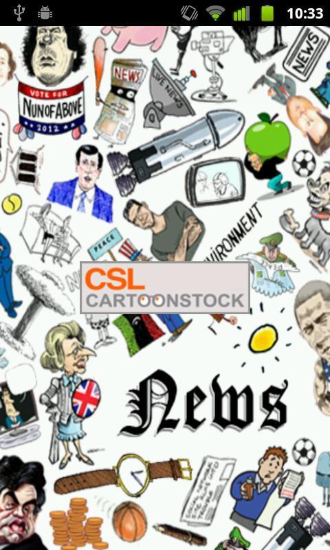 Cartoon News - Imagem 1 do software