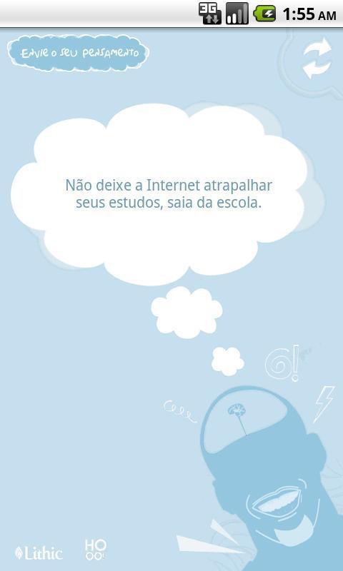 Pensamentos Inúteis - Imagem 2 do software