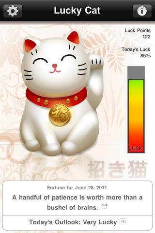 Lucky Cat with Daily Fortune - Imagem 1 do software