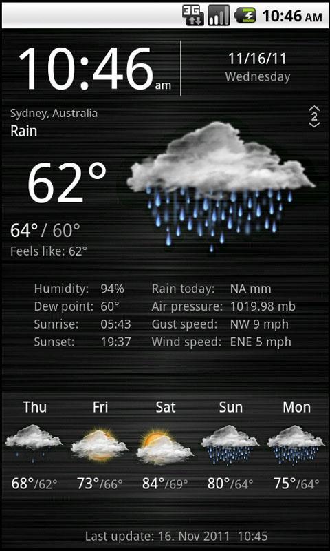 Weather Services - Imagem 2 do software
