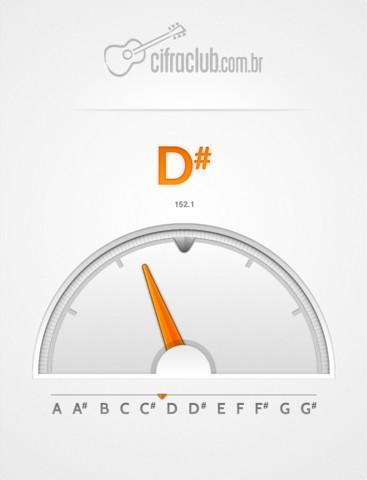 Afinador Cifra Club - Imagem 1 do software