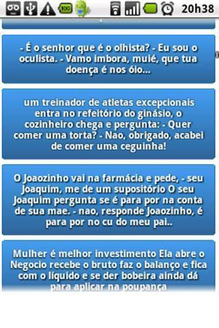 Droido - Piadas em Português - Imagem 1 do software