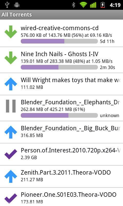 BitTorrent Remote - Imagem 2 do software