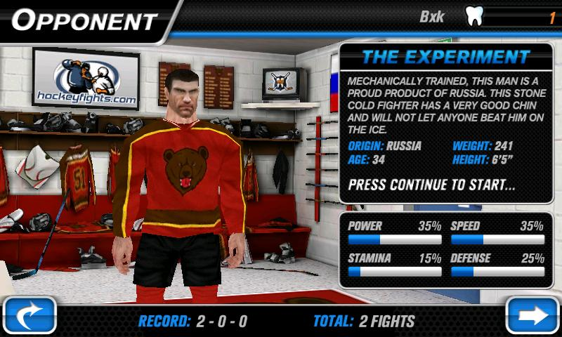 Hockey Fight Lite - Imagem 1 do software