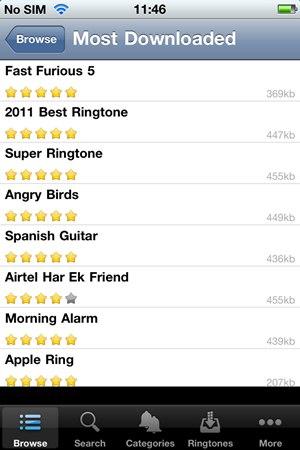 Ringtones 500.000+ - Imagem 2 do software