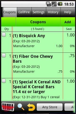 Grocery Tracker Shopping List - Imagem 2 do software