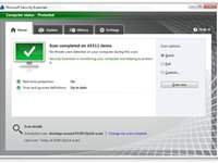Imagem 1 do Microsoft Security Essentials