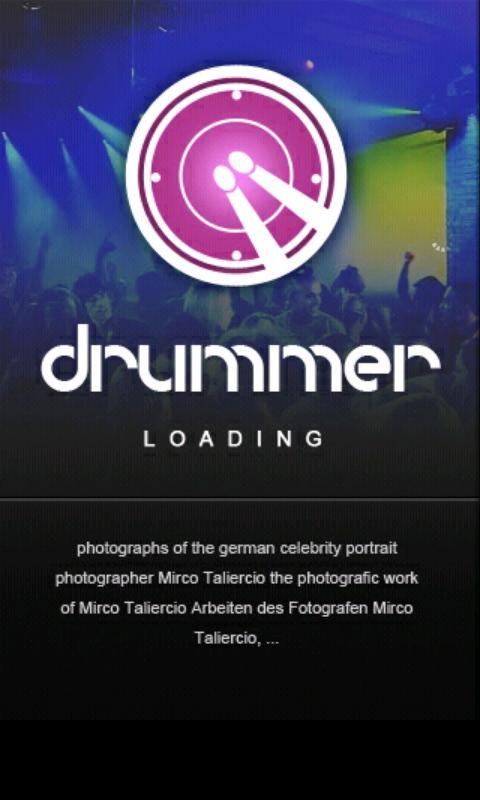 Drummer Multi touch - Imagem 1 do software