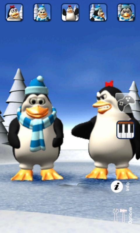 Talking Pengu & Penga Penguin - Imagem 1 do software