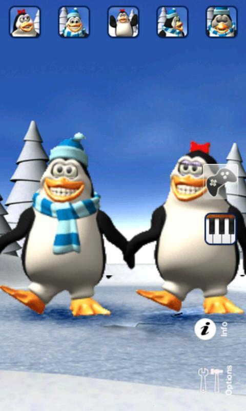 Talking Pengu & Penga Penguin - Imagem 2 do software