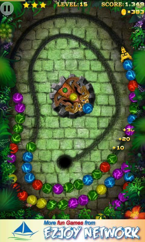 Marble Blast 3 - новая версия игры Zuma от разработчика Ezjoy. Вам