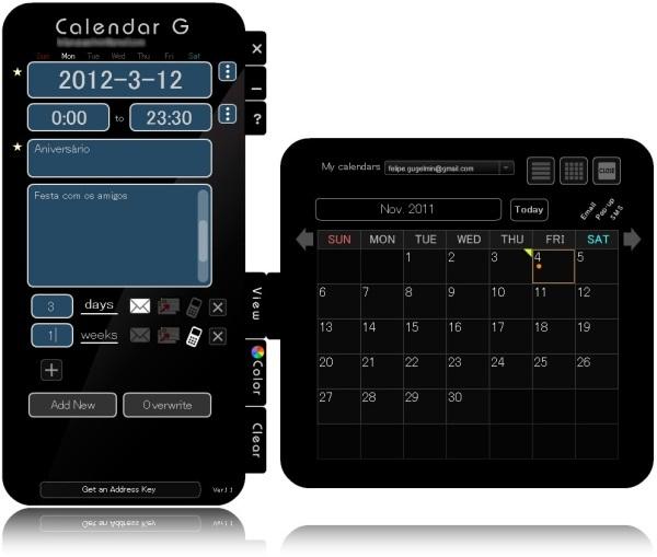 Calendar G - Imagem 1 do software