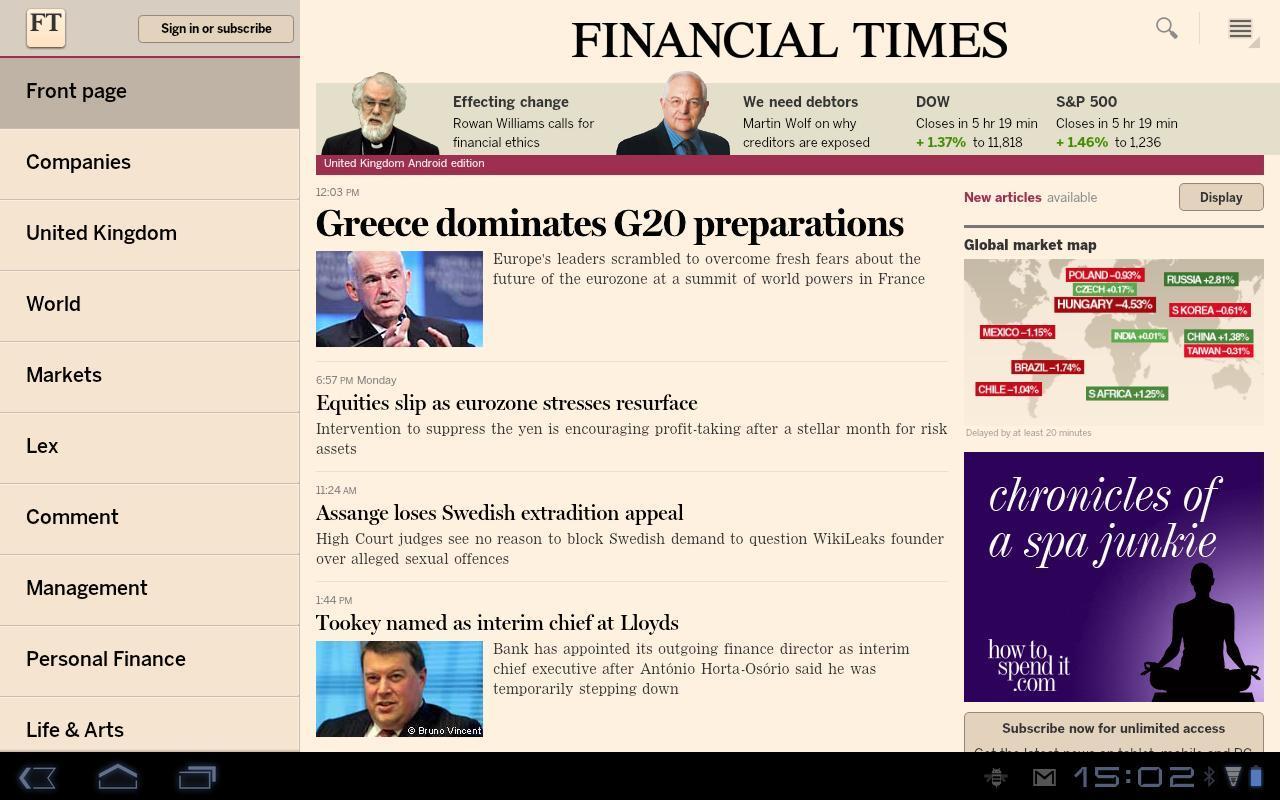 Financial Times - Imagem 1 do software