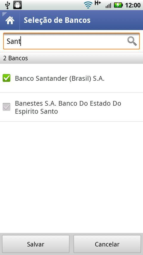 Cadê Meu Banco - Imagem 1 do software