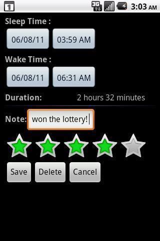 Sleep Bot Tracker Log - Imagem 1 do software