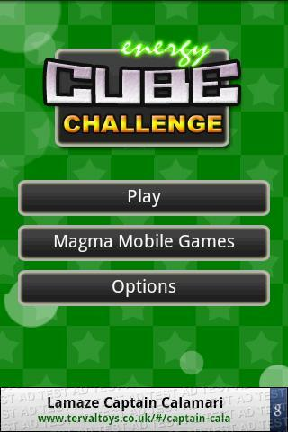 Cube Challenge - Imagem 1 do software