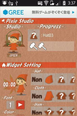 PixieStudio -Clock Ver - Imagem 2 do software