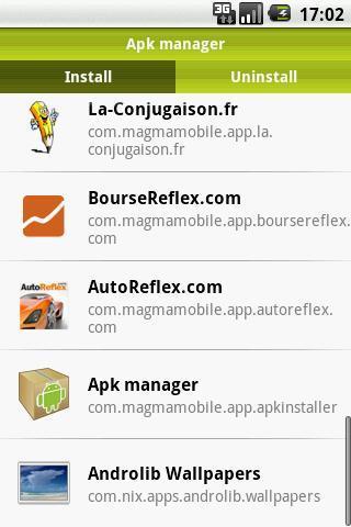 Apk Manager - Imagem 1 do software