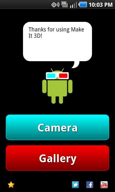 Make It 3D Free - 3D Camera - Imagem 1 do software