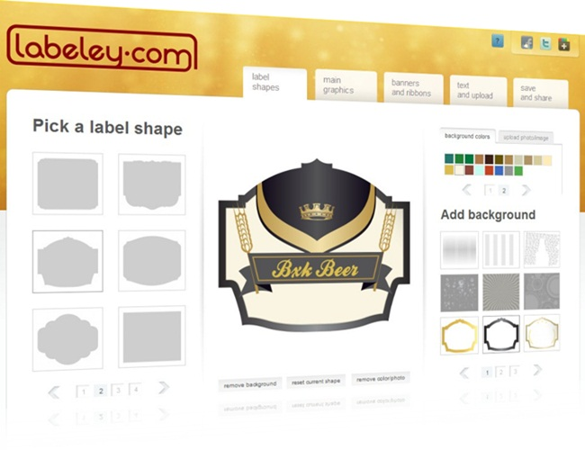 Labeley - Imagem 1 do software
